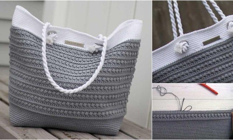 Malia Shoulder Bag Free Crochet Pattern