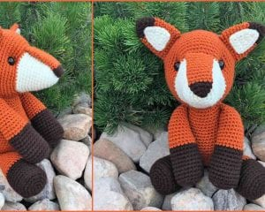 Fredric the Fox Amigurumi Free Pattern