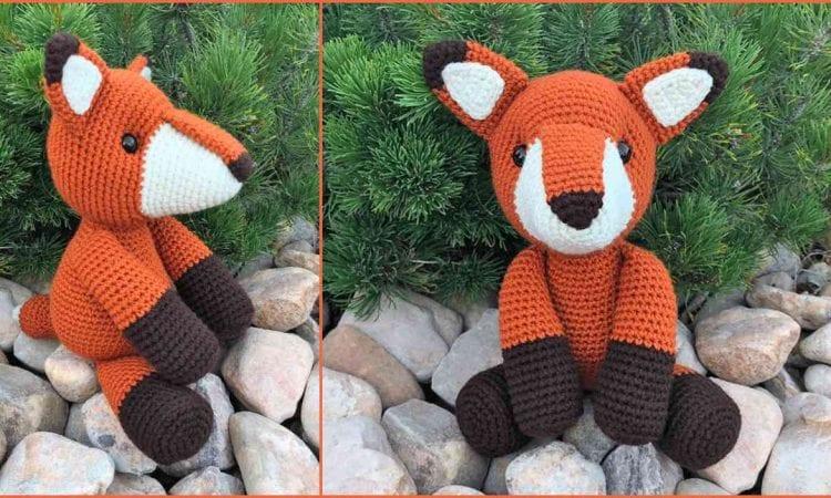 Fredric the Fox Amigurumi Free Pattern