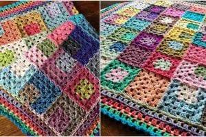 Let It Go Blanket Free Crochet Pattern