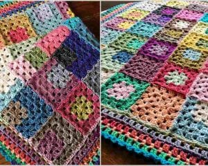 Let It Go Blanket Free Crochet Pattern