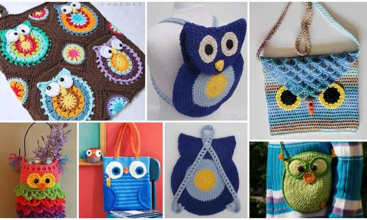 c42eead9d 5 Owl Bag Free Crochet Patterns and The Best Ideas