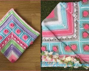 The Neave Baby Blanket Free Crochet Pattern