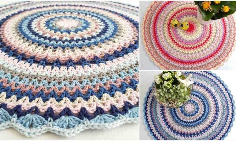 Polar Mandala Free Crochet Pattern
