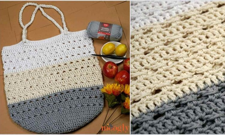 Perfect Day Market Tote Free Crochet Pattern