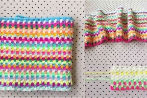 Snuggle Stitch Blanket and Tutorial Free Crochet Pattern