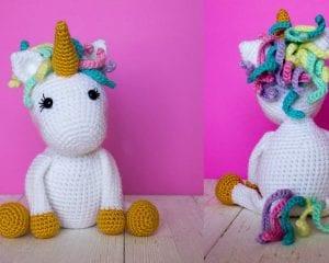 The Friendly Unicorn Amigurumi Free Crochet Pattern