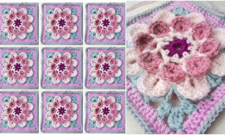 Moon Blossom Free Crochet Pattern