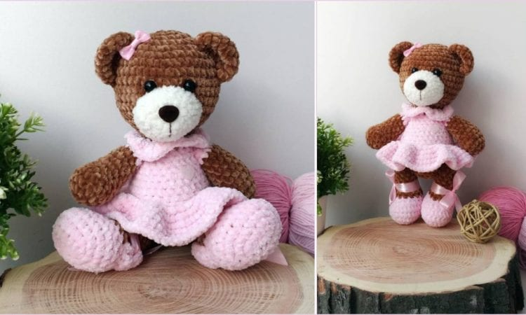 Amigurumi Sweet Bear Free Pattern