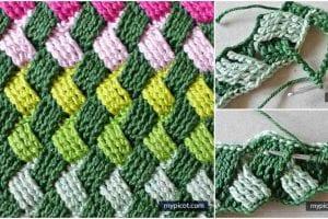 Basket Wave Stitch Free Crochet Pattern