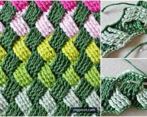Basket Wave Stitch Free Crochet Pattern