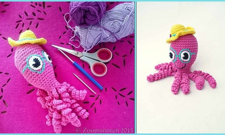 Crochet Ocotpus Amigurumi Free Pattern