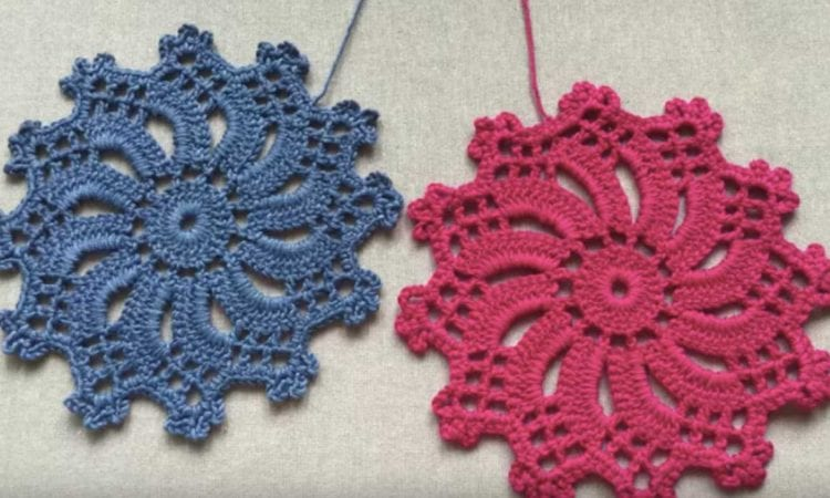 Crochet Flower Free Tutorial