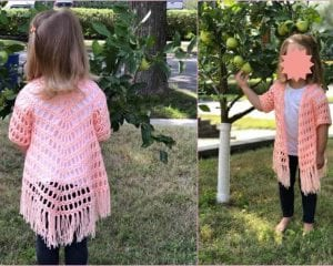 It's Shawl Good Cardigan Free Crochet Pattern