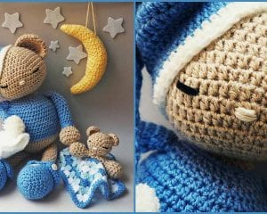 Amigurumi - Teddy Bear Poly Free Crochet Pattern