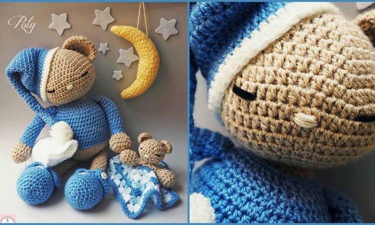 Amigurumi - Teddy Bear Poly Free Crochet Pattern