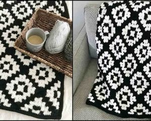 The Mabel Blanket Free Crochet Pattern