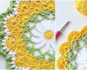 Daisily Doily Free Crochet Pattern