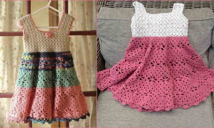 Little Girl Vintage Dress Free Crochet Pattern