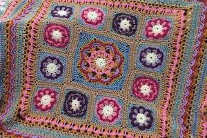 Beaulieu Blanket Free Crochet Pattern