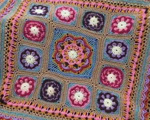 Beaulieu Blanket Free Crochet Pattern