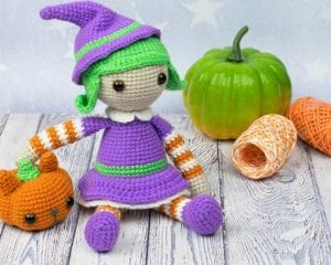 Halloween Witch Doll Amigurumi Pattern