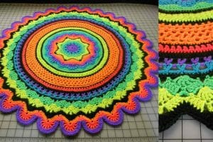 Mini Rings of Change Free Crochet Pattern