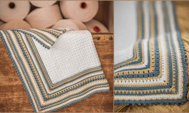 Ohlala Baby Blanket Free Crochet Pattern