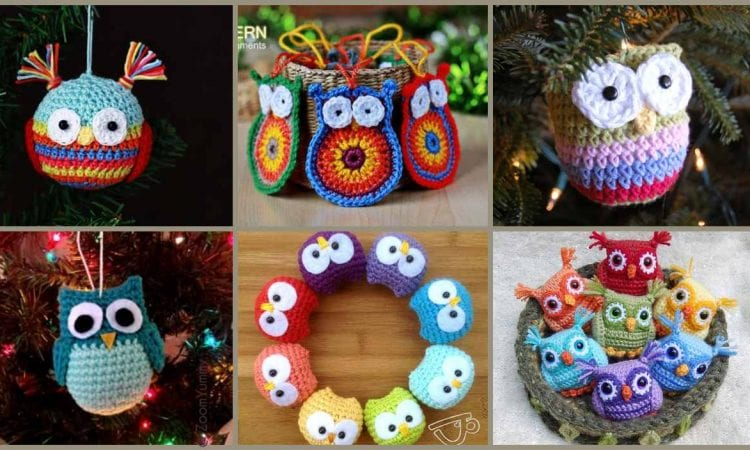 Owl Ornaments The Best Ideas Crochet Patterns