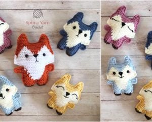 Pocket Fox Amigurumi Free Crochet Pattern