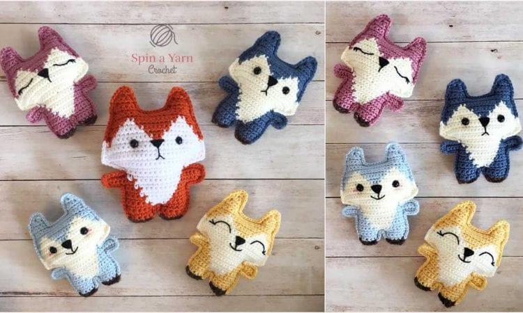 Pocket Fox Amigurumi Free Crochet Pattern