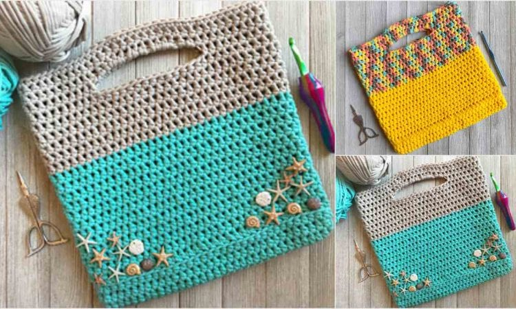 Project Bag Free Crochet Pattern