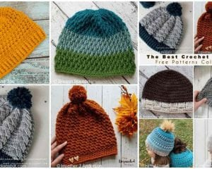 The Best Crochet Beanie Free Pattern Collection