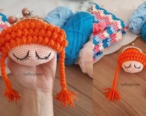 Wallet Doll Amigurumi Free Crochet Pattern