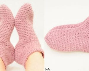 Bulky Socks Free Crochet Pattern