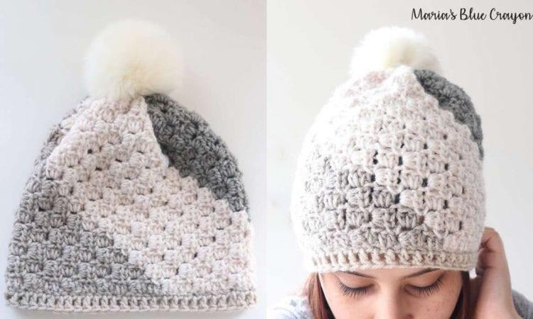 C2C Beanie Free Crochet Pattern