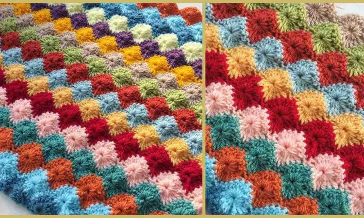 Catherine Wheel Stitch Afghan
