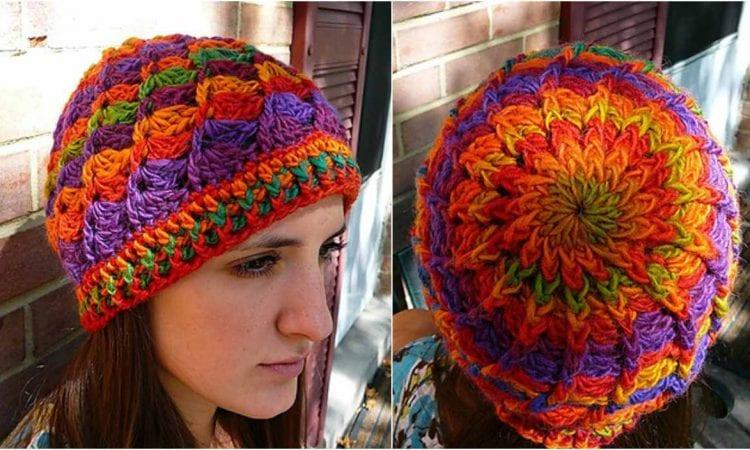 Divine Mochi Rainbow Hat Free Crochet Pattern
