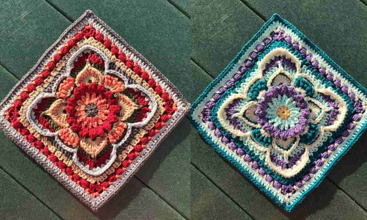 Kinnedy Nichelle Square Free Crochet Pattern