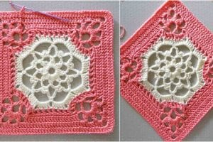 Victorian Dream Square Free Crochet Pattern