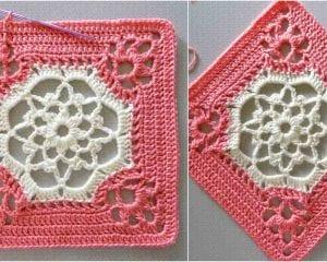 Victorian Dream Square Free Crochet Pattern