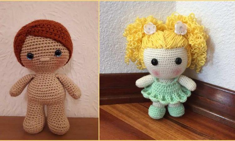Weebee Baby Doll Free Crochet Pattern
