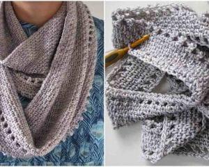 Calm Cowl Free Crochet Pattern