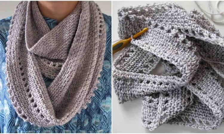 Calm Cowl Free Crochet Pattern