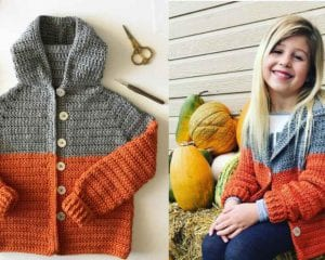 Color Block Sweater Free Crochet Pattern