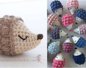 Diddy Hedgehog Free Crochet Pattern