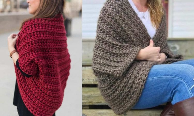 Juno Chunky Shrug Free Crochet Pattern