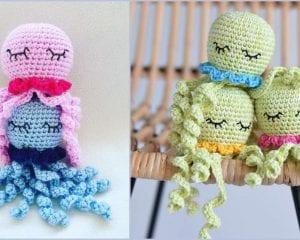 Sleeping Octopus For Preemies Free Crochet Pattern