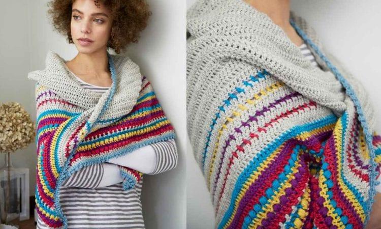 Stash-Buster Stripes Free Crochet Pattern