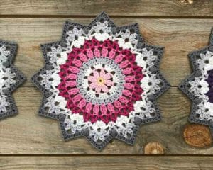 Winter Mandala Free Crochet Pattern